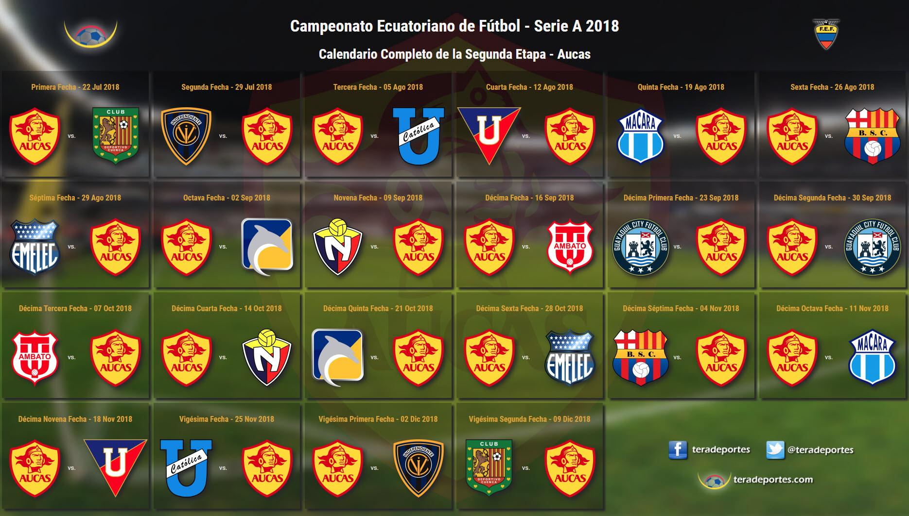 Calendario Del Barcelona.Serie A Calendario Completo Y Por Cada Equipo De La Segunda Etapa