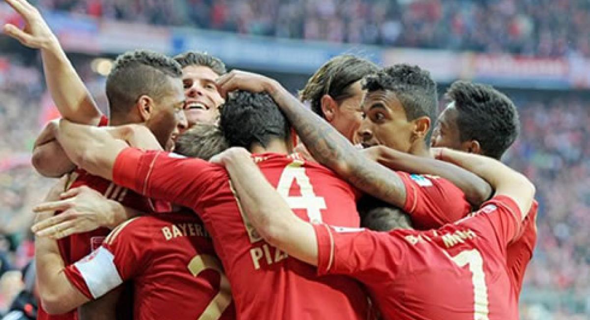 Fútbol Europa Champions League Bayer Múnich y Málaga completan los ...