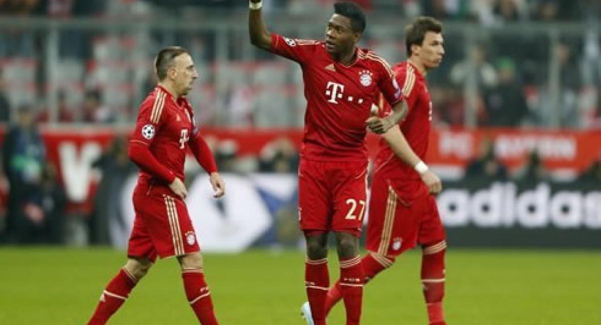 Fútbol Europa Champions League (2-0) Bayern saca ventaja sobre la ...