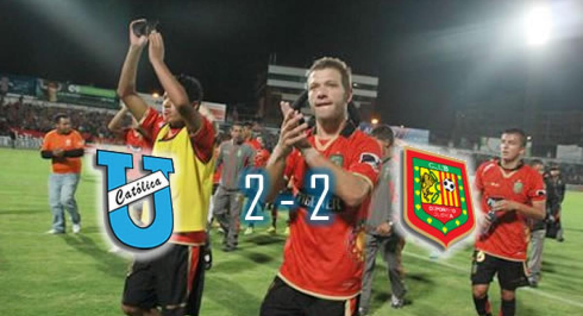2-2) D. Cuenca no pudo sostener una victoria y tuvo que conformarse ...