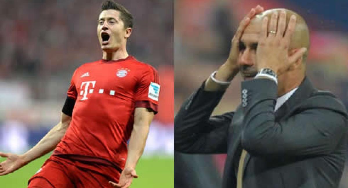Lewandowski marcó cinco goles en nueve minutos, Guardiola no lo ...