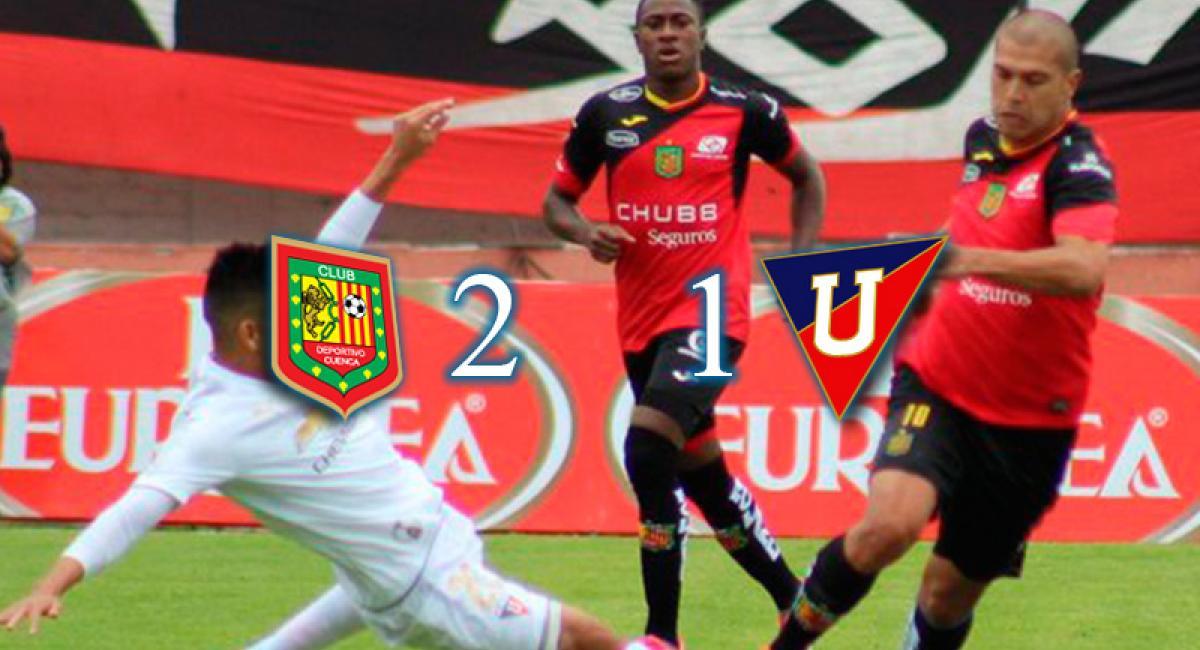 Serie A 2 1 Deportivo Cuenca Hace Respetar Su Casa Remonta Y Derrota A Liga De Quito Tera Deportes