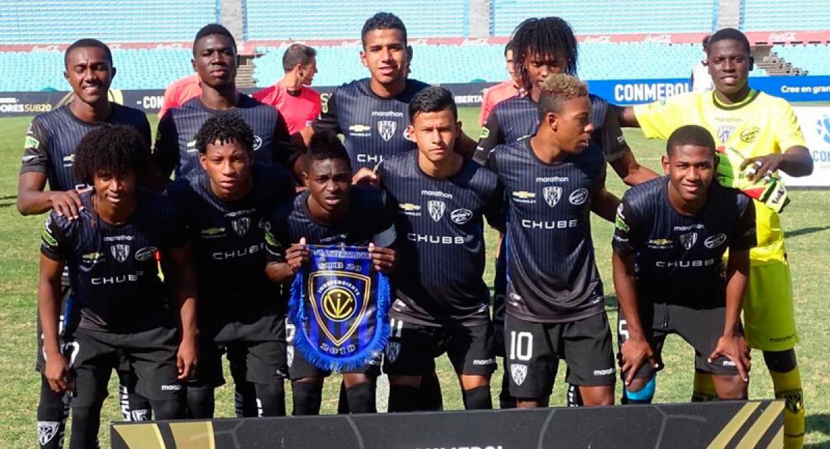 Independiente del Valle sub 20 finalista de la Copa Libertadores