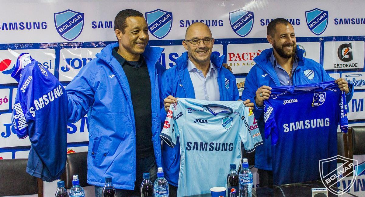 Campeonato Boliviano Alfredo Arias Fue Presentado En El Club Bolívar De La Paz Tuit Tera Deportes