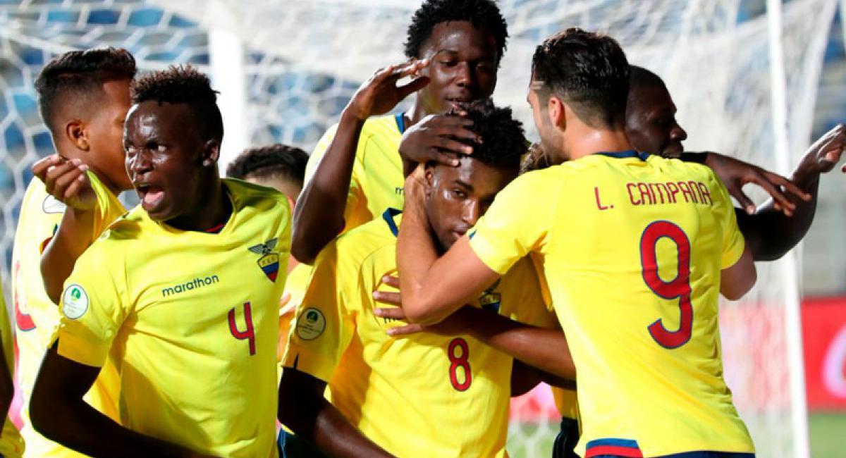 Conmebol dio a conocer once ideal del Sudamericano Sub 20